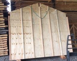 Les murs sont préfabriqués en atelier